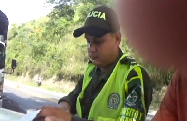 Policia comparendo