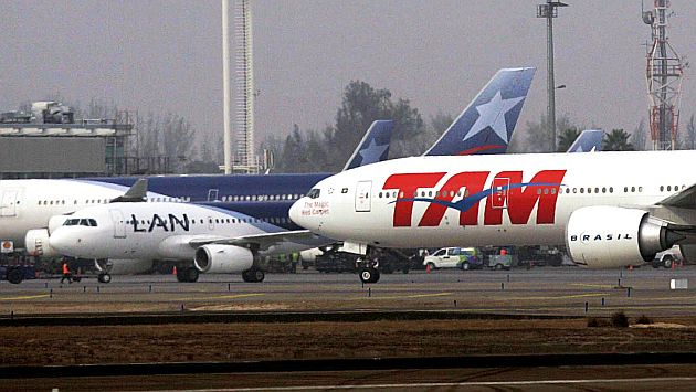 Lan y Tam aviones