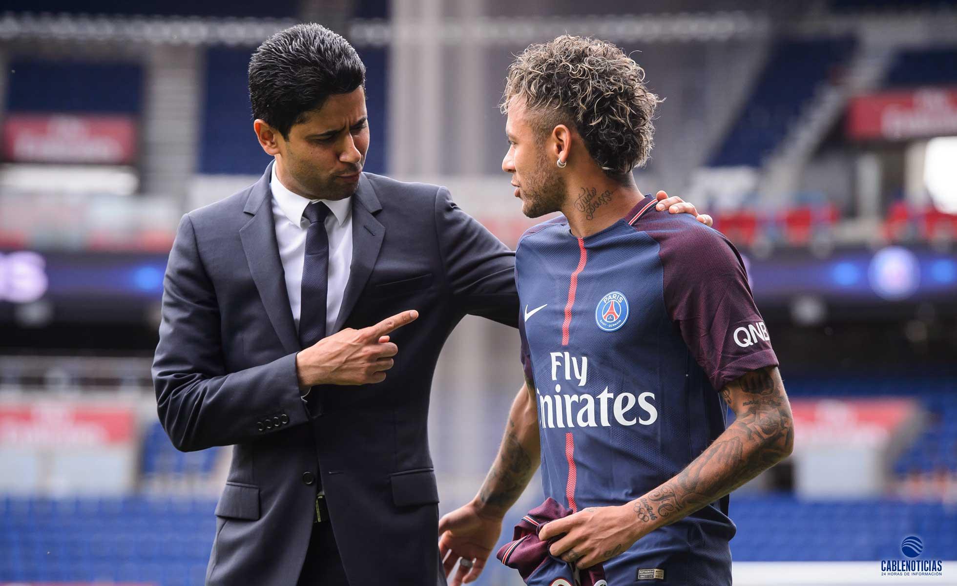 Neymar reanuda su recuperación en el centro de entrenamiento del PSG