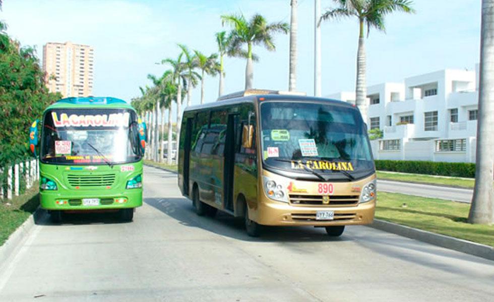 Resultado de imagen para imagenes transporte urbano barranquilla
