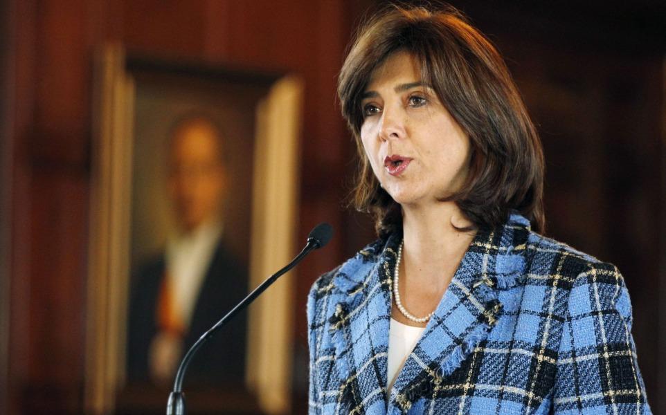 Canciller Maria Angela Holguin