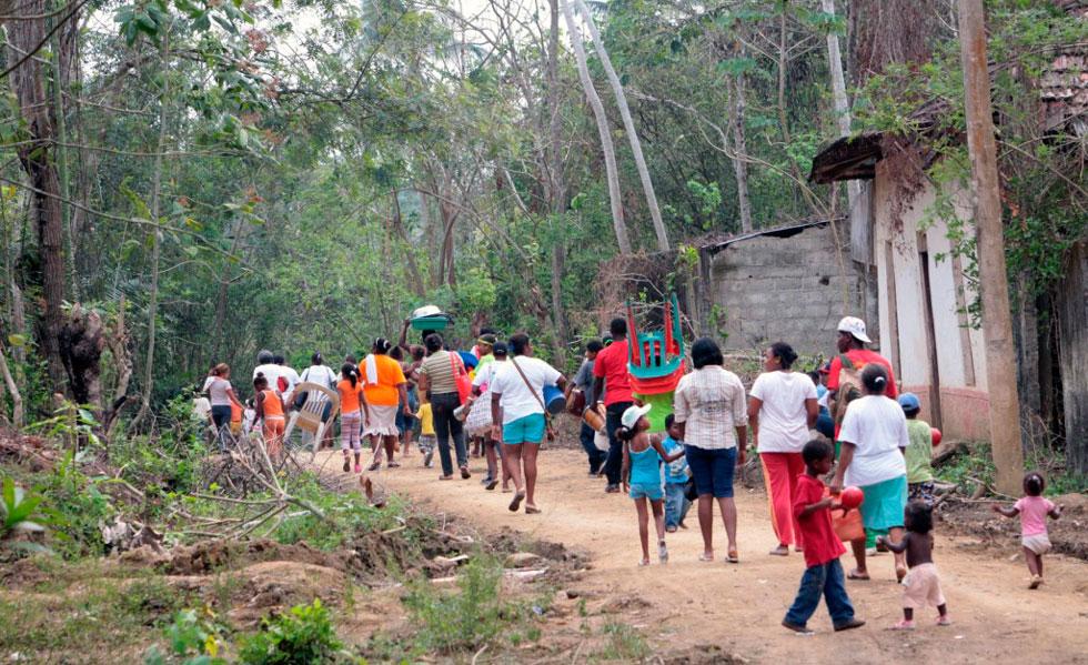 COLOMBIA:  ONU: 1.500 desplazados por recientes choques armados