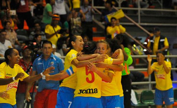 Equipo femenino de fútbol de salón está en buen nivel para Suramericano 1c6a90cece8fe
