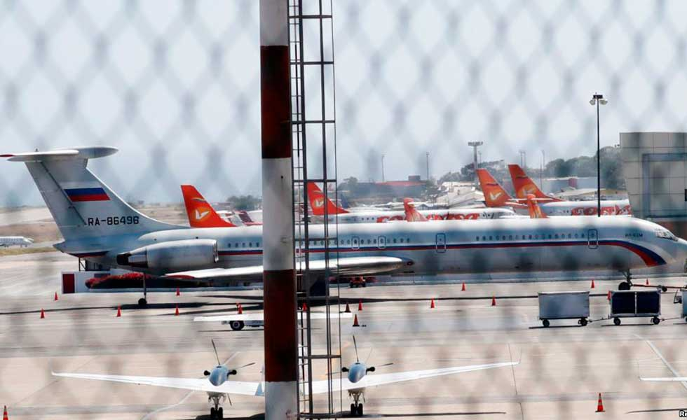 Rotundo rechazo de EEUU por llegada de aviones rusos a Venezuela