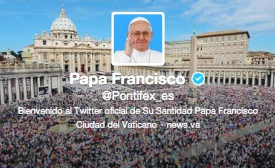 Twitter Papa Francisco
