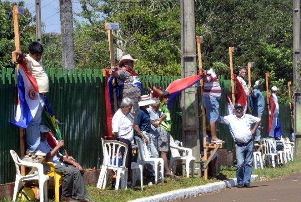 Paraguay crucificados